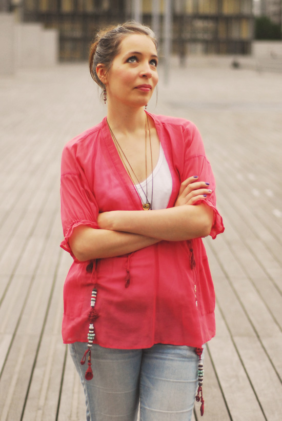 blouse kenzo