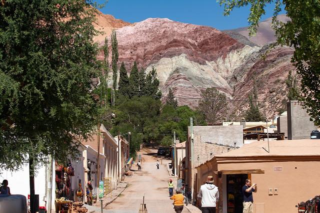 Cerro de los Siete Colores en Purmamarca