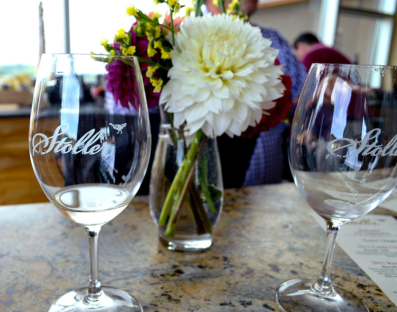 Stoller White Flight Tasting