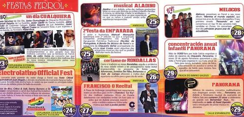 Ferrol 2013 - Festas do Verán - programa II