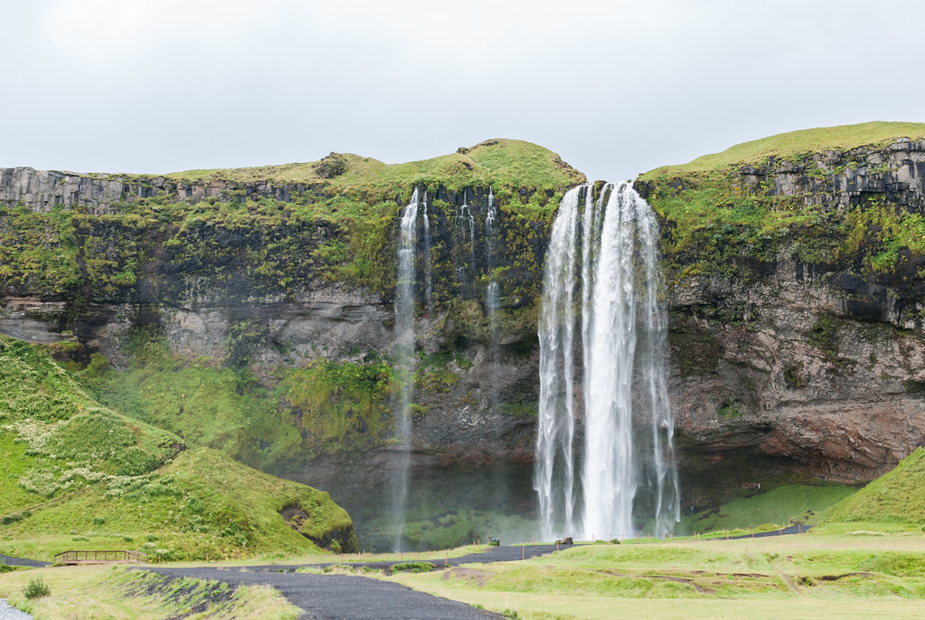 Seljalandsfoss on Iceland's Ring Road