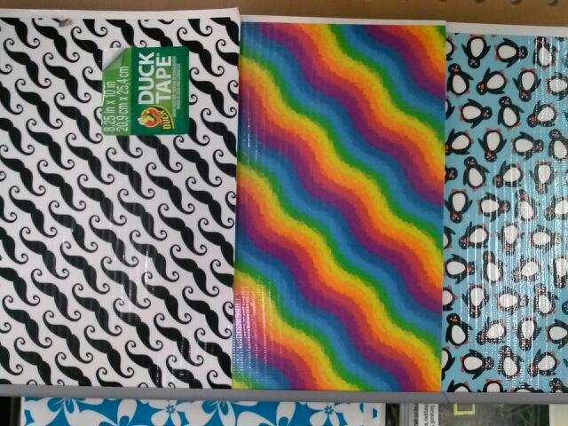Back to school diy ideas with duck tape and walmart for Duck tape craft book