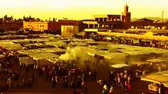 Marokko III, Marrakesch