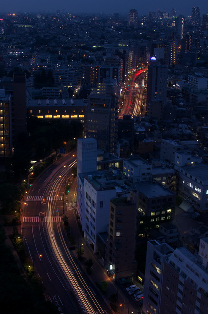 東京路地裏散歩 2013年9月12日 文京シビックからの眺め