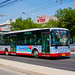[Buses in Beijing]安凯 Ankai HFF6128GZ-4 北京公交集团 BPT #23748 Line 340 Front-right at Wanzi