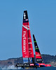 Race 6 - 34th America's Cup - San Francisco - 2013. ETNZ round Mark 1.