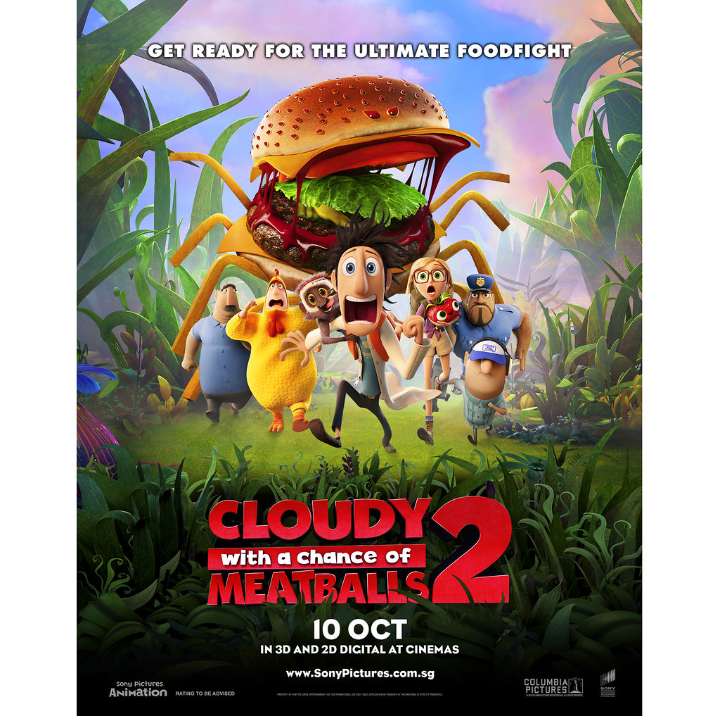 Cloudy With A Chance Of Meatballs 2 Create Your Own Foodimals