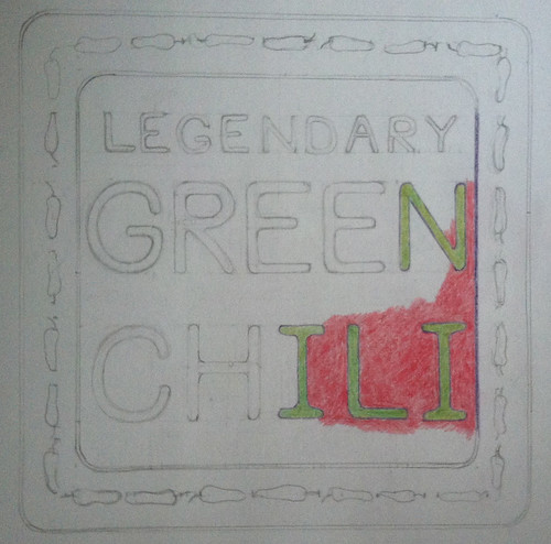 Legendary Green Chili (Illustration as of Sept. 1, 2013) by randubnick