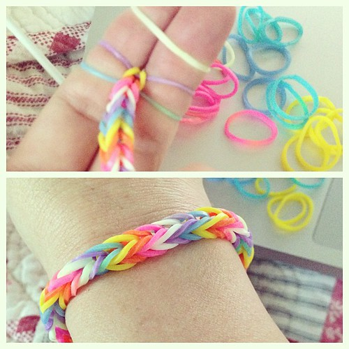 on fishtail a band bracelet com to homemade wonderloom instructions how hoosierhomemade make hoosier rubberband rubber