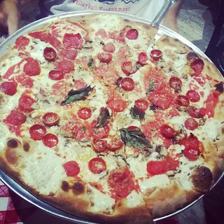 Grimaldis #2.  #pizza #nyc #magic