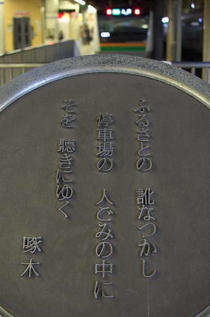 Tokyo Train Story 上野駅にて 2013年9月28日