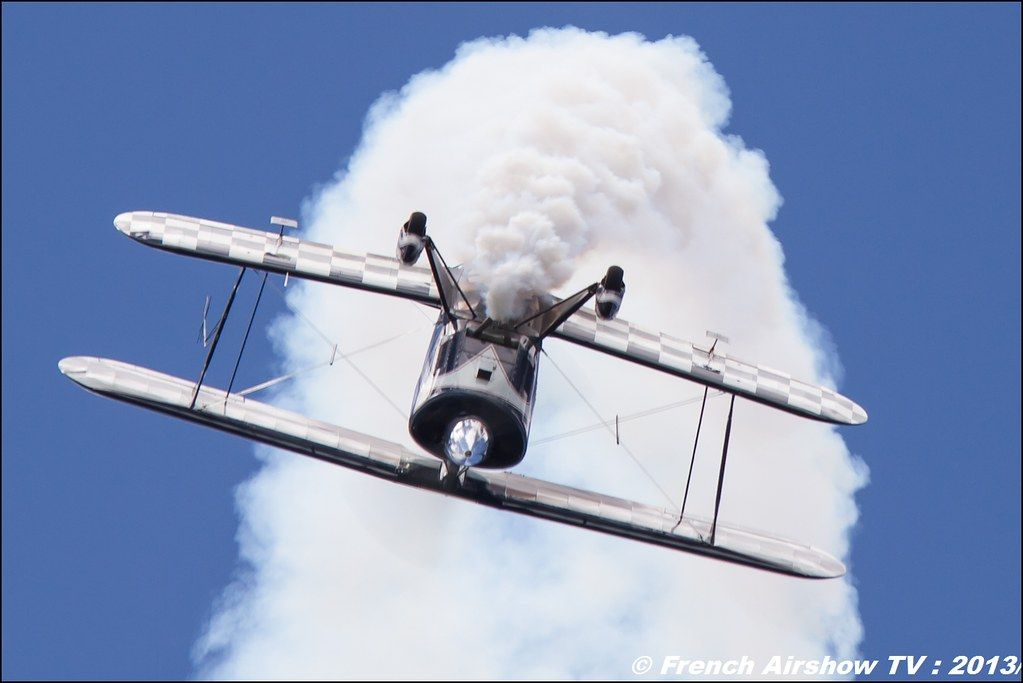 Pitts F-HBOB , Meribel Air Show 2013