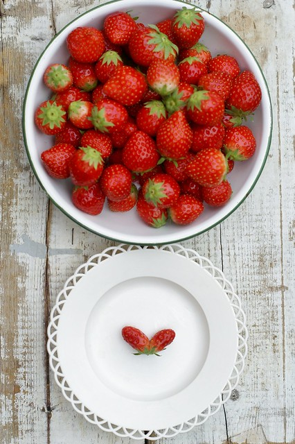 ♥ strawberries