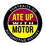 Ate Up With Motor Logo