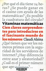 Claudi Alsina, Vitaminas matemáticas