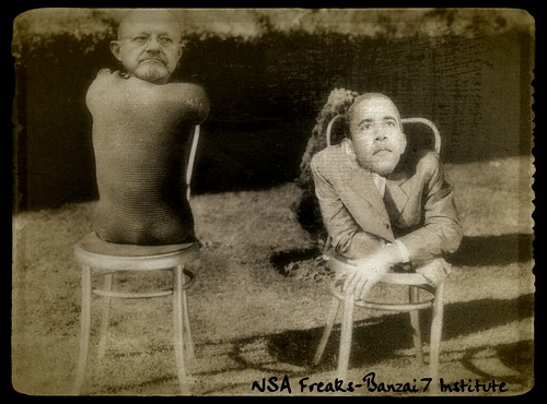 NSA FREAKS by WilliamBanzai7/Colonel Flick
