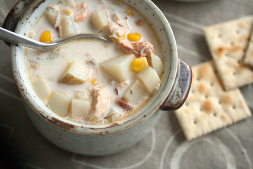 Quick Salmon Chowder