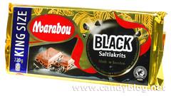 Marabou Black Saltakrits