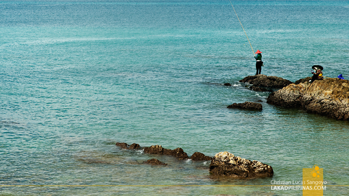 Fishing at Phuket's Azure Patong Beach