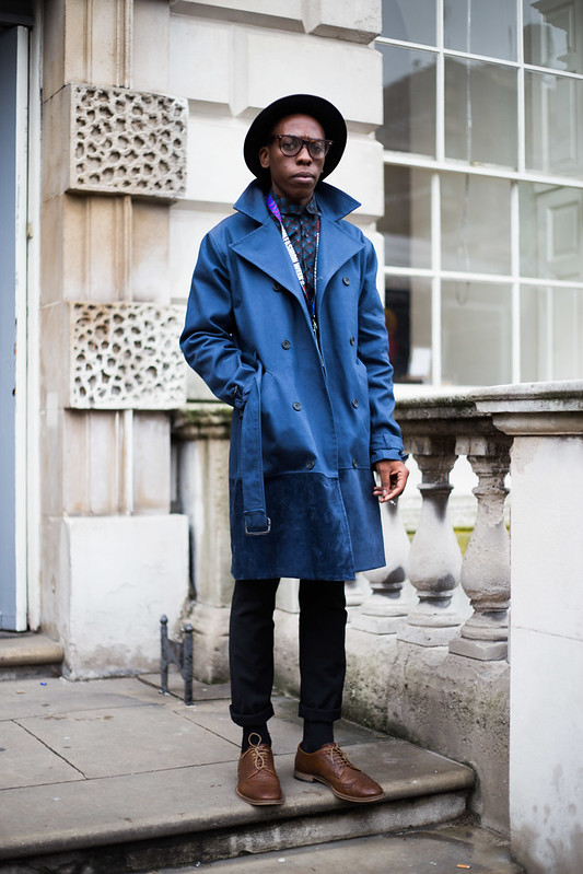 Street Style - John Muleba, London Fashion Week