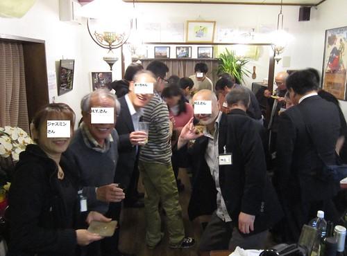 情報交換会で懇親 2013年11月16日19:42 by Poran111
