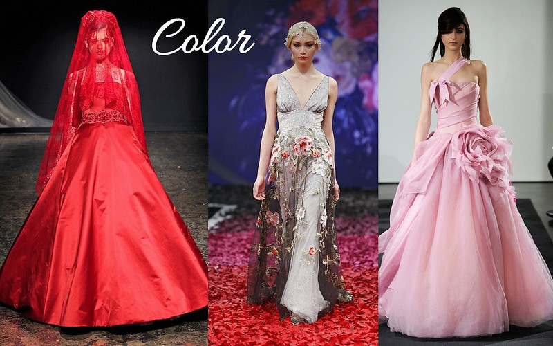 2014bridalgowntrendscolor