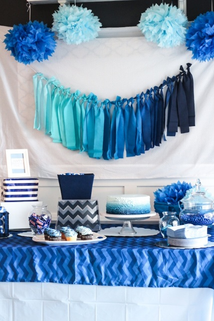 ombre tassels