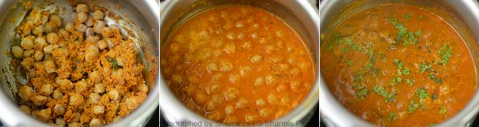How to make soya chunks gravy - Step4