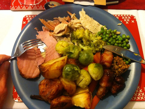 249-365 (Year 7) Christmas dinner :)