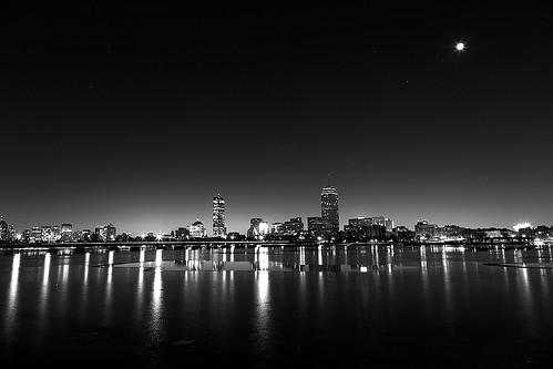 CN4A9321_B&W - Boston Sunrise by Syed HJ