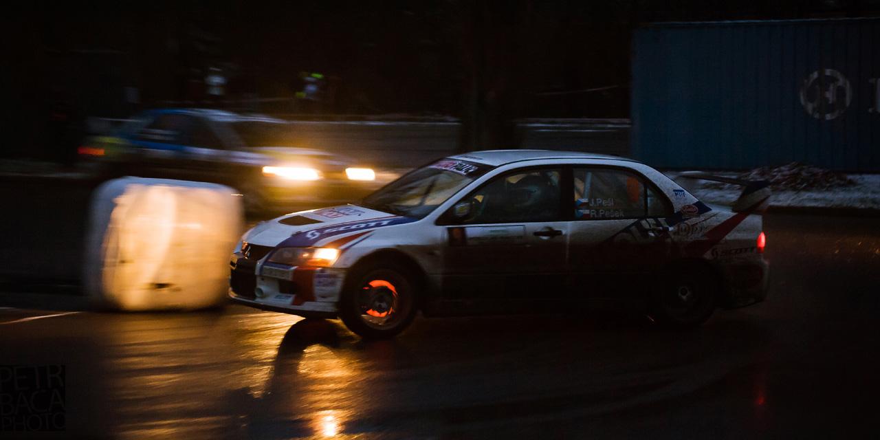 Mikuláš Rally Slušovice 2013, Mitsubishi Lancer EVO9,
