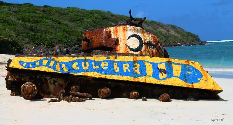 Tank of Flamenco Beach Culebra, PR