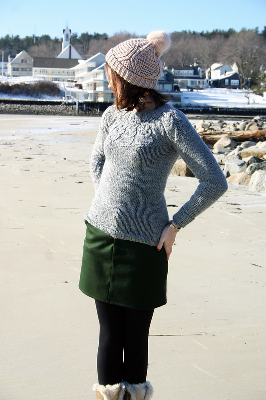 owl sweater moss skirt2