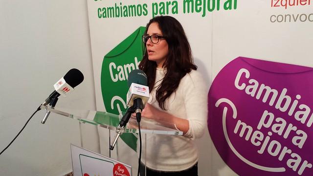 Rueda de prensa con Marina Segura sobre CANLA