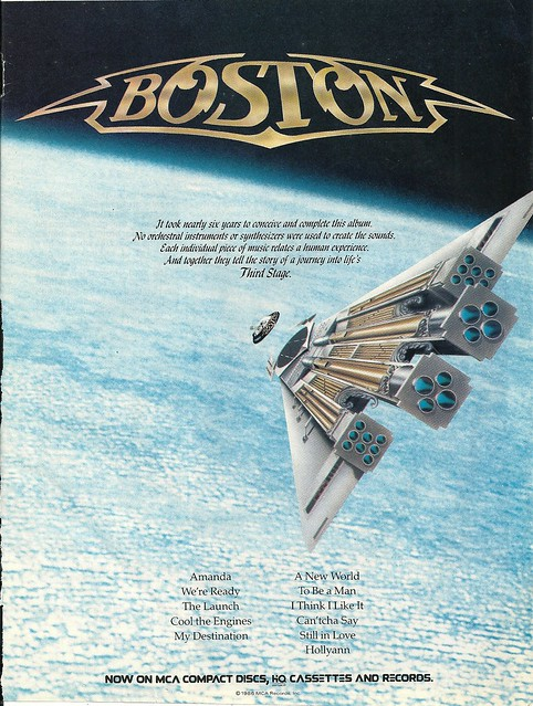 "Boston ""Third Stage"" (Released: 09/23/86)"