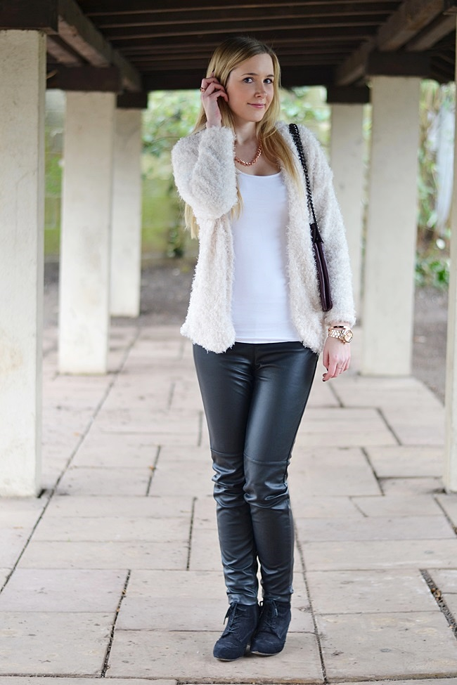Outfit kuschel Cardigan (1)
