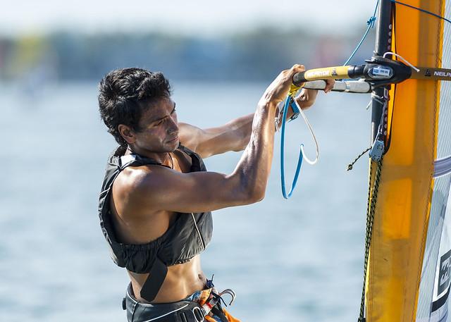 Byron Kokkalanis (GRE) - Sailing World Cup 2014, Miami FL
