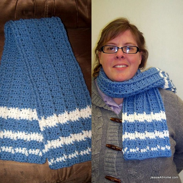 Raised-Stripes-Scarf