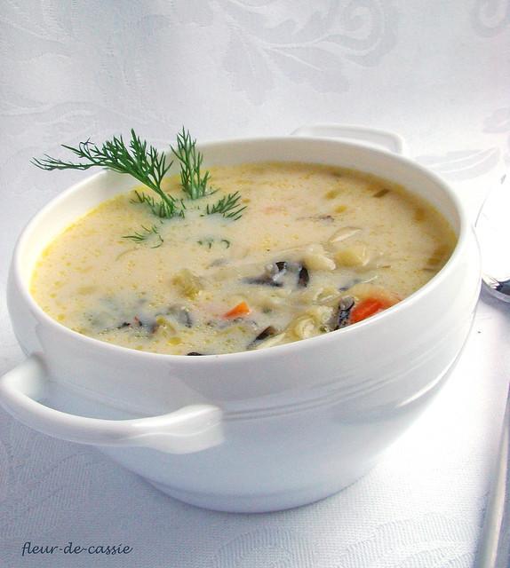 суп с диким рисом CIA 1
