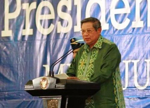 Presiden Curhat di HPN 2014 Bengkulu