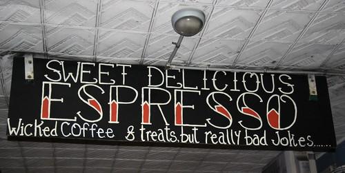 Good coffee, Bad Jokes