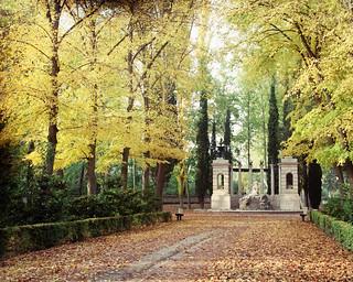 Fuente de Apolo, en el Jardín del Príncipe.