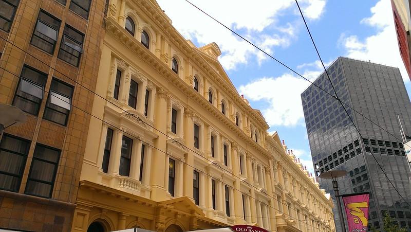 Wellington city centre