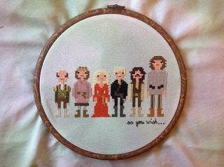 The Princess Bride by Weelittlestitches