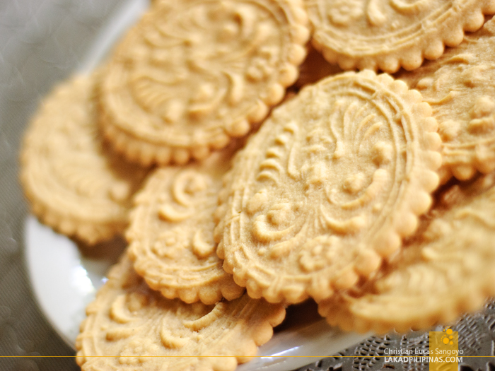 Sanikulas Biscuits at the Kusina ni Atching Lillian
