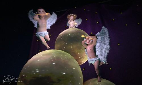 ROQUAI's little Cupids - No Hear No Speak No See 2