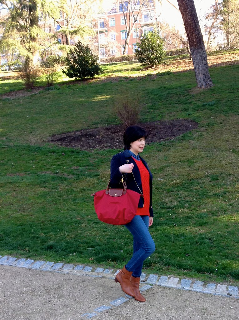 Parque del Oeste, Madrid, España - Outfit of the Day - OOTD