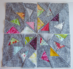 The Windmill Quilt Block 1