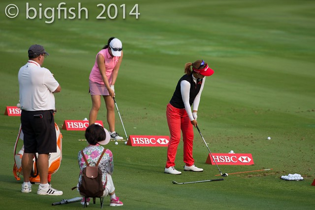 Some ladies golfers - Practice Round - Day 2 (some pics) 12761498403_998ba2ed0a_z