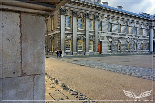 The Establishing Shot: THOR: THE DARK WORLD BATTLE OF GREENWICH FILM LOCATION - LOWER GRAND SQUARE, THE OLD ROYAL NAVAL COLLEGE (ORNC) GREENWICH, LONDON by Craig Grobler